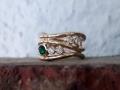 Förlovningsring-24-Röguldsring-med-diamanter-och-Tsavorit