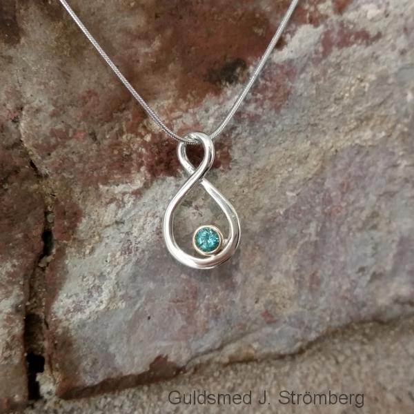 silverhänge till halsband
